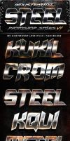 Steel Photoshop Layers Styles V4 by Industrykidz