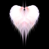 Colored Fractal Heart by dotgfx