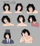 Gerard Expressions 2 by Carrot-cake9