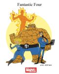 Mighty Marvel Month of March - Fantastic Four by tyrannus