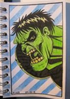 Hulk by mikegee777