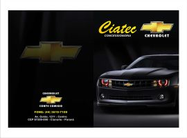 Pasta Chevrolet Ciatec by LynckDesign