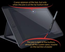 Wacom-Cintiq-13HD-Pen Cursor Issue by Tobibrocki