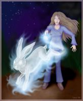 Luna's Patronus by Loony-Lucy