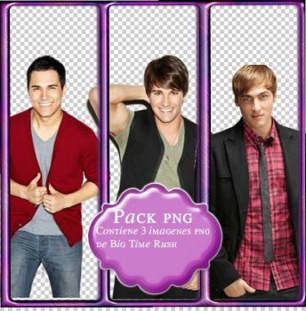 Pack Png de Big Time Rush 2013 by Ignacio-TPP