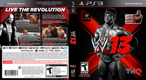 Zack Ryder WWE 13 PS3 Video Game Cover by dxinite