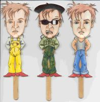 Rik Mayall Popsicle Puppets 2 by angelacapel