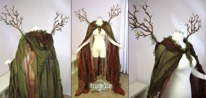 Forest Cape and Branch Wings by Lillyxandra