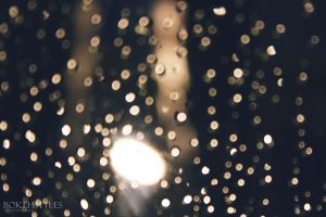 Bokeh from raindrops by xiaohime23