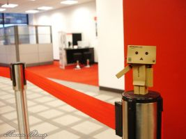 Day 011: Danbo's Workplace by twong314