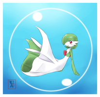 Commission .:Gardevoir:. by Icandoittoo