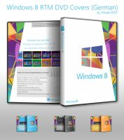Windows 8 RTM DVD Covers (de-DE) by Misaki2009