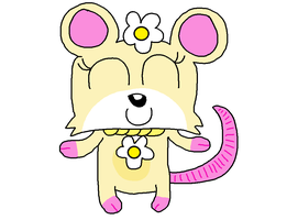 My drawing of Daisy the Opossum's redesign by PenelopeHamuChan