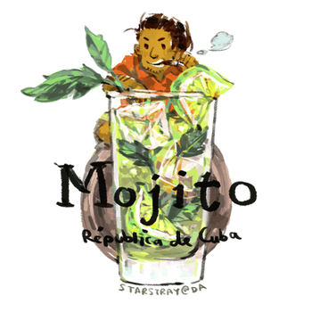 mojito -cup collab- by starstray