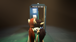 This is the tardis by D3athbox