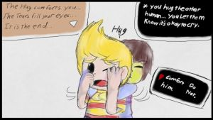 No crying until the end. by KareyTheDrawingDude