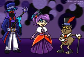 Evil Care Bear Fashion by guardian-of-moon