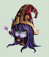 LoL - Lulu by tenzeru-chan
