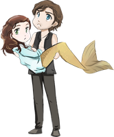 Philip and Syrena by SkyDrew