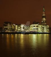 South Bank of the Thames by PyramidHead