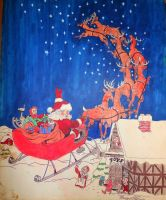 Merry Christmassss by october84stardust