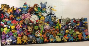 Pokemon all gens, overall 3rd row over half done by samarin6