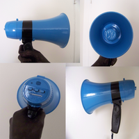 The Grim Heaper's Megaphone by WolfDeityProductions