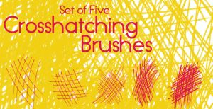 Crosshatching Brushes by ChthonicResources - Crosshatching Brushes