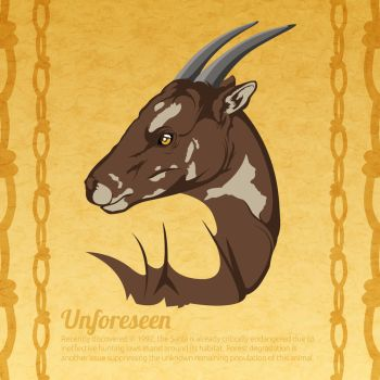 Beautifully Fragile: Saola by CreativeFelli