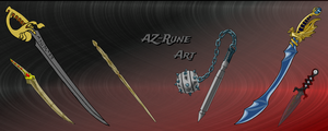 Cover-weapons by AZ-RUNE