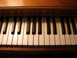 Piano Keys 2 by FantasyStock