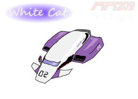 02--White Cat by revivedracer209