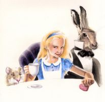 Alice in Wonderland by AllisonSohn
