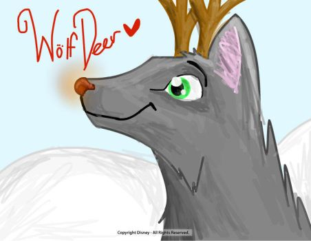 Wolf Deer by Flint-Productions