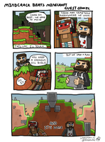Mindcrack Beats Minecraft Guest Comic by terra-wah