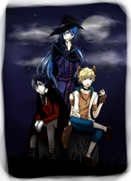 Halloween Star Project by RoiyaChan