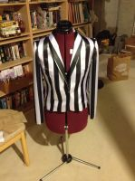 Beetlejuice Cosplay -IN PROGRESS- by GothicBrony