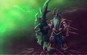 ...Shan'do Illidan 2... by ShadowPriest