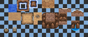 New cave tile ! (private..) by BatiJFG
