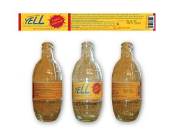 Yell Bottle Label by McD-19