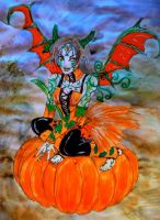 Pumpkin Fairy by chaosqueen122