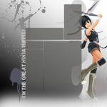 Yuffie yt background by xAquaLinax