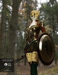 Cheetah for DAZ Genesis 3 female by hattonslayden