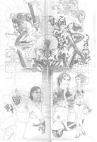 Dellec 4 cover pencils by MicahJGunnell
