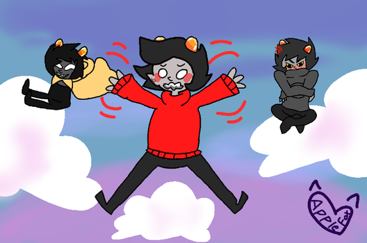 Falling vantas boys by AppleFoxes