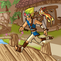 Jak and Daxter by DaughterInumi