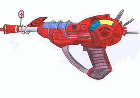 Raygun by Leviathuse