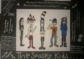 The Spooky Kids by silentlysavage