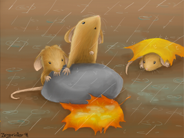 Poor Mice by Zloyprinter