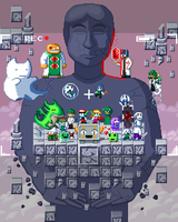 Cave Story's early 10th anniversary by ScepterDPinoy